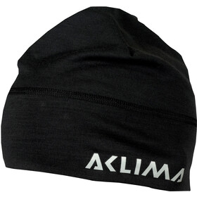 Aclima LightWool Bonnet, jet black
